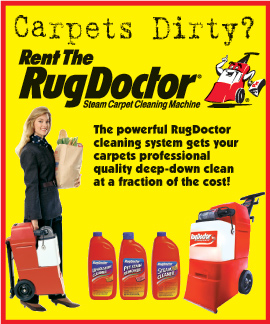 rug doctor - clean carpets